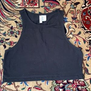 H&M basics Crop Tank Top